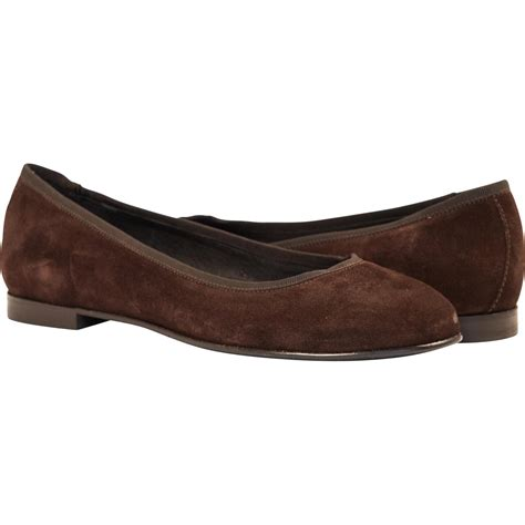 brown flat shoes chocolate brown suede ballerina flats paolo shoes
