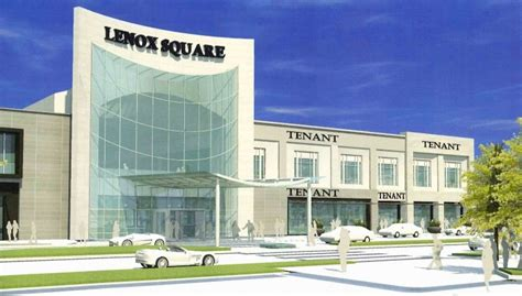 layout of lenox mall buckheadviewlenox square unveils new fa 231 ade plans other