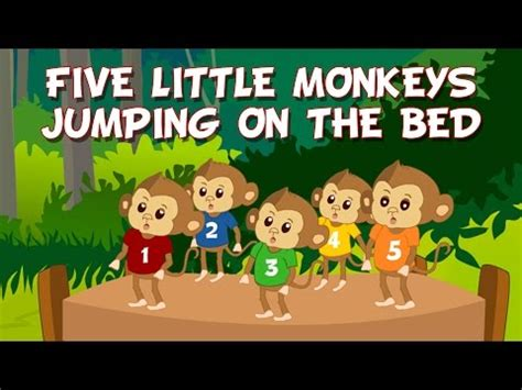 5 cheeky monkeys swinging in the tree lyrics 5 little monkeys guitar chords and lyrics to the outdated