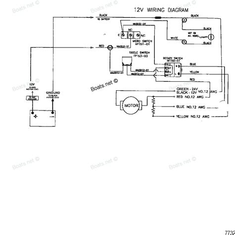 12 volt boat wiring diagram trailer get free image about