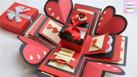 valentine explosion box tutorial how to make explosion box diy valentine s day explosion