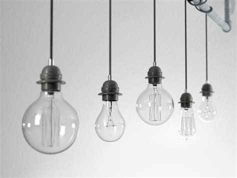 industrial hanging light bulbs