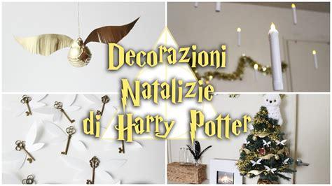candele volanti decorazioni natalizie di harry potter boccino d oro