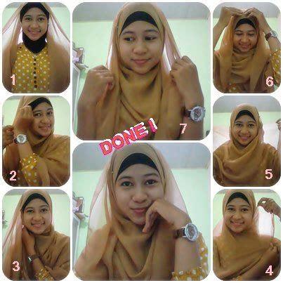 tutorial berhijab tanpa ninja tutorial hijab paris simple tanpa ciput ninja