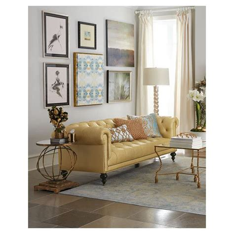 Yellow Leather Living Room Chair 25 Best Ideas About Tufted On Neutral