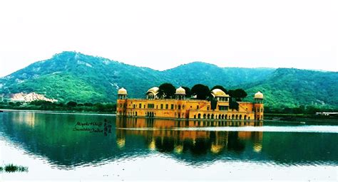 Jal Mahal, Jaipur, India   is a palace located in the middle of the