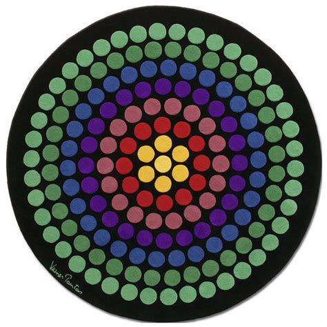 tappeti carpet tappeto mod vp08 rb design verner panton designer carpets