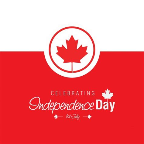 day image free beautiful canada day background vector free