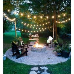 Backyard Lighting Ideas by 25 Best Ideas About Backyard String Lights On
