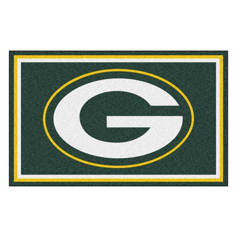 green bay packers rug green bay packers 4 x 6 rug