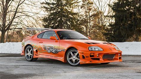 Toyota Supra Ff Paul Walker S F F Supra Sells For 163 120k Top Gear