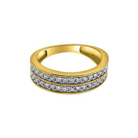 1 00cttw 2 row bling bling 10k gold ring 10k