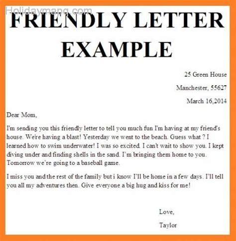 friendly letter template holidaymapqcom