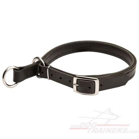 Leather Choke Collar C1 C1 1073 Leather Choke Collar 24 90 Harness