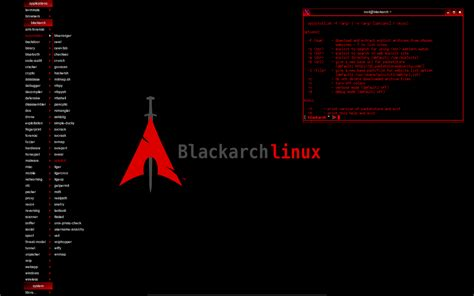 blackarch a linux distribution of security and