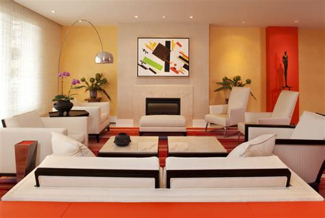lake calhoun colorful condo modern living room minneapolis by white space architecture