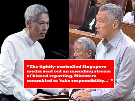 lee hsien loong fathers state funeral will be a moment lee siblings claim parliament and state media are biased