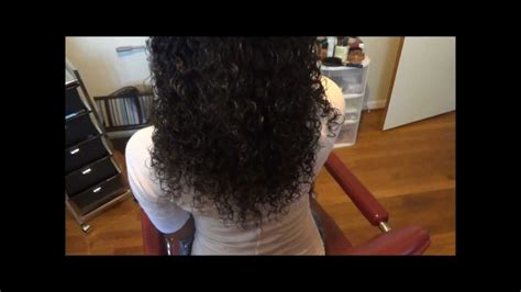 how to leave hair out for sew in full sew in no leave out using malaysian curly hair