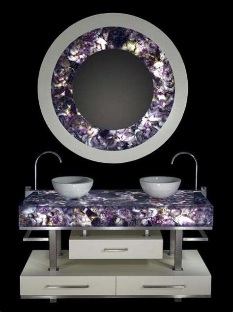 blinged out home decor gemstones in luxury interior design