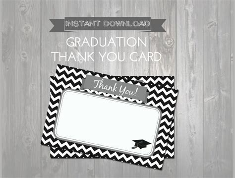 free printable graduation thank you card template 7 graduation thank you notes documents in pdf