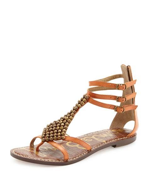 sam edelman sandal sam edelman studded gladiator sandal in gold
