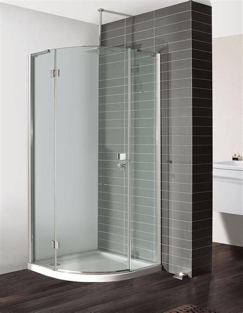 Single Door Quadrant Shower Enclosure Design Quadrant Single Door Shower Enclosure In Frameless Luxury Bathrooms Uk Crosswater Holdings