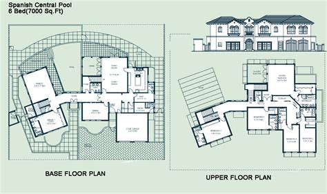 spanish villa house plans view spanish villa floor plans home design very nice best