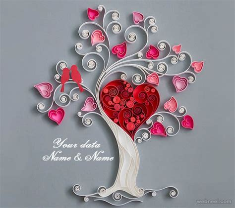 Craft Paper Design - 25 beautiful quilling flower designs and paper quilling cards