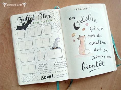 layout for journal intime bullet journal octobre par zunzunblog fr pinteres