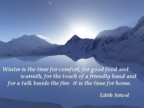 Winter Comforts by Gallery Winter Warmth Quotes