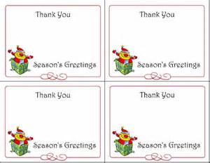 6 printable gift tags cards thank you notes and greeting cards squawkfox
