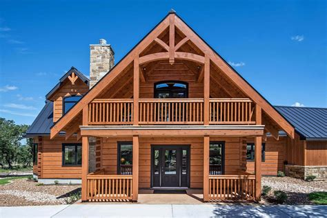 custom log home lake custom home builder san