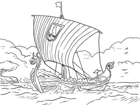 Hutte Gauloise Dessin by Coloriage Drakkar De Vikings Coloriages 224 Imprimer