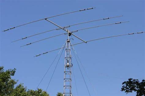 w2nra ham radio 4 element beam hf radio antenna directional function rotatable by