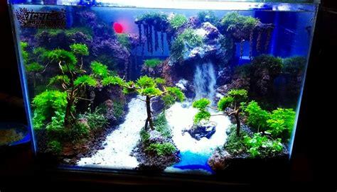 pemandangan alam  aquascape kumpulan gambar
