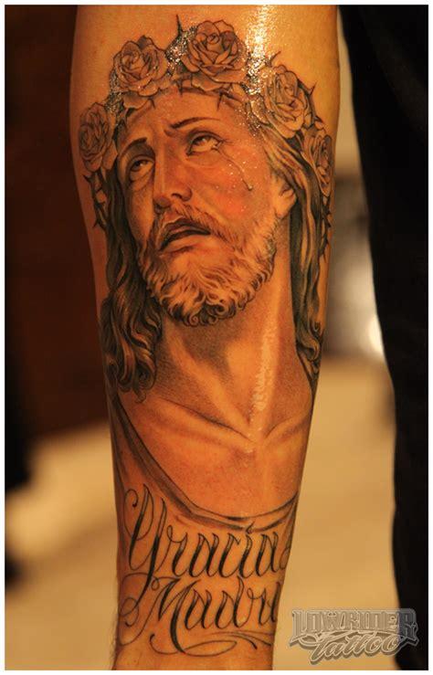 jesus greek tattoo 耶稣纹身图案