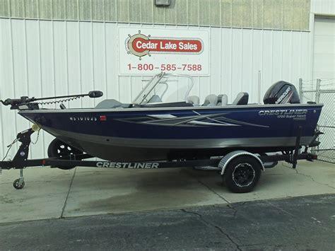 crestliner boat reviews crestliner 1850 sport fish boat test notes boats