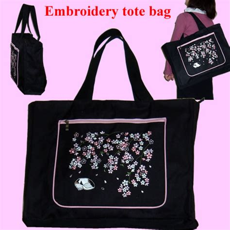 embroidered tote bag pattern specialty store of japanese gift rakuten global market