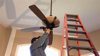 Putting In A Ceiling Fan How To Install A Ceiling Fan Monkeysee