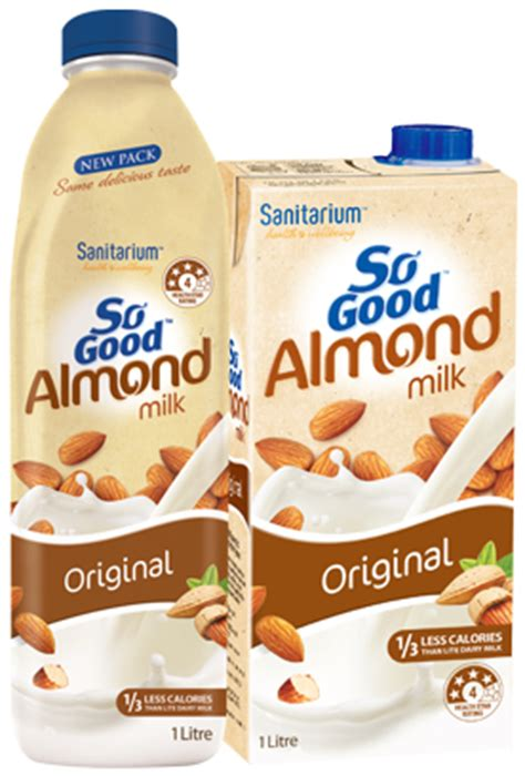 Monchan Almond Milk Almond Vanilla 250ml so almond milk original so au