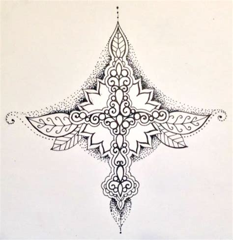 sternum mandala tattoo 1000 images about me on