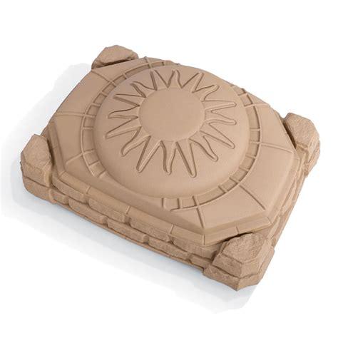 step 2 sandbox with bench naturally playful sandbox kids sand water play step2