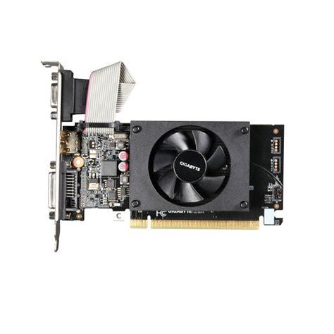 Vga Geforce 2gb Ddr3 gigabyte geforce gt 710 2gb ddr3 vga dual link dvi d hdmi pci e graphics card ebuyer