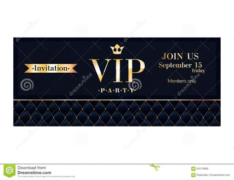vip card design template vip invitation cards premium design templates stock vector
