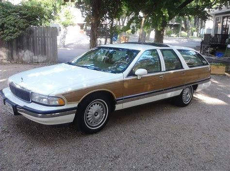 how to sell used cars 1992 buick roadmaster navigation system buy used 1992 buick roadmaster estate wagon wagon 4 door 5 7l 65 600 miles in austin texas