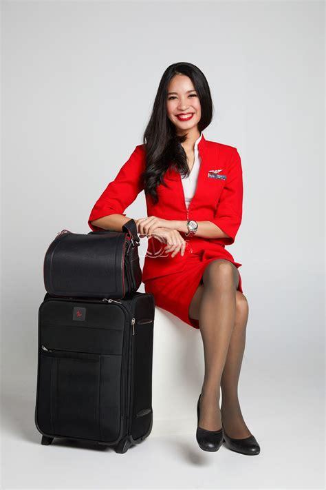 cabin attendants crew thaiairasia crew crew portrait cabin crew