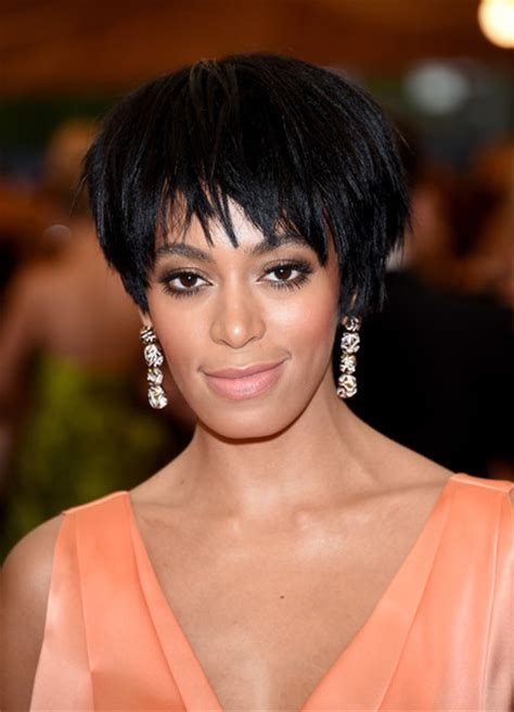 Solange Knowles Hairstyles by Solange Knowles Layered Razor Cut Layered Razor Cut