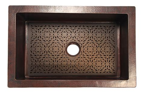 Kitchen Sink Grates Mosaic Grate For Copper Kitchen Sink Copper Sinks