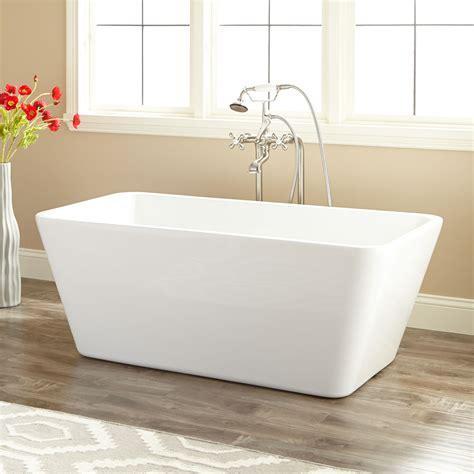 rectangular bathtubs bathtubs idea glamorous rectangular freestanding tub