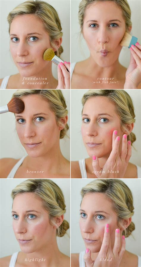 natural face makeup tutorial how to black tie makeup